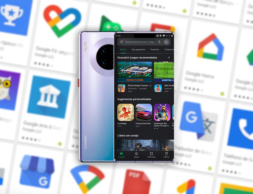 Googlefier: aplicaciones de Google en un Huawei de la forma más sencilla