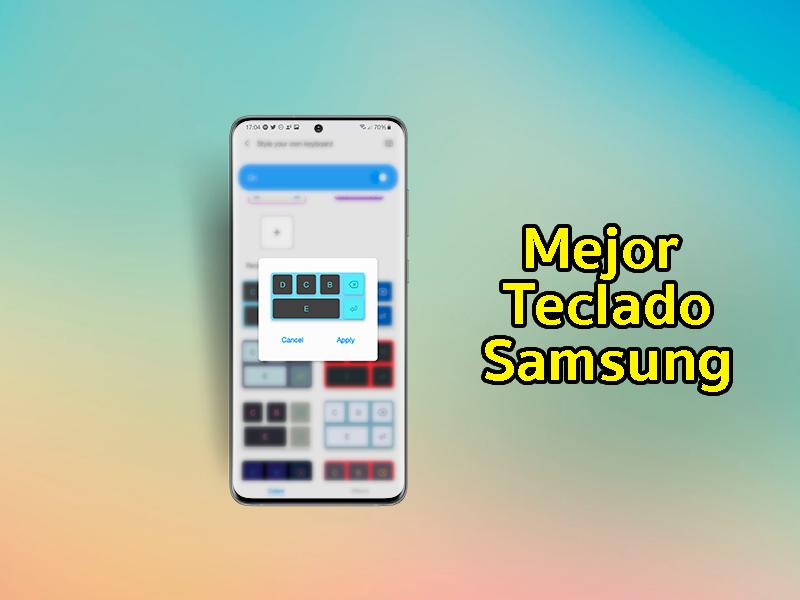 El mejor teclado para móviles Samsung con Keys Cafe: opciones infinitas de personalización
