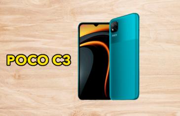 POCO C3, el nuevo móvil más barato de Xiaomi