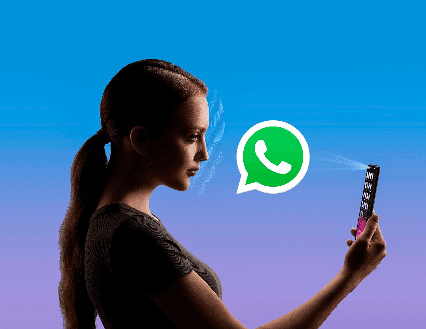 WhatsApp será más seguro: accede con la huella o con la cara