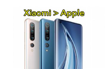 Xiaomi supera a Apple, y no es por incluir cargadores en la caja