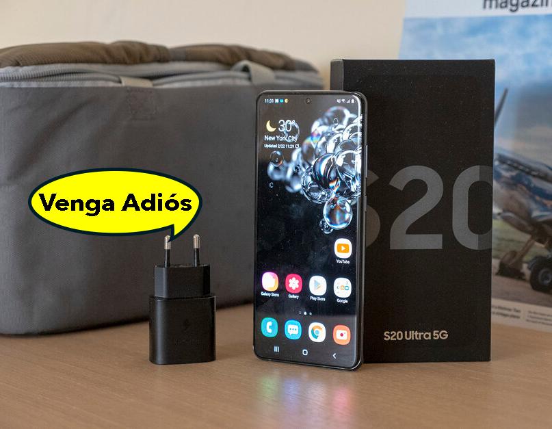 Samsung copiará a Apple: adiós al cargador y auriculares de la caja