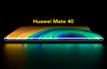 Huawei Mate 40: revelado su extraño diseño octagonal y adiós a los botones virtuales