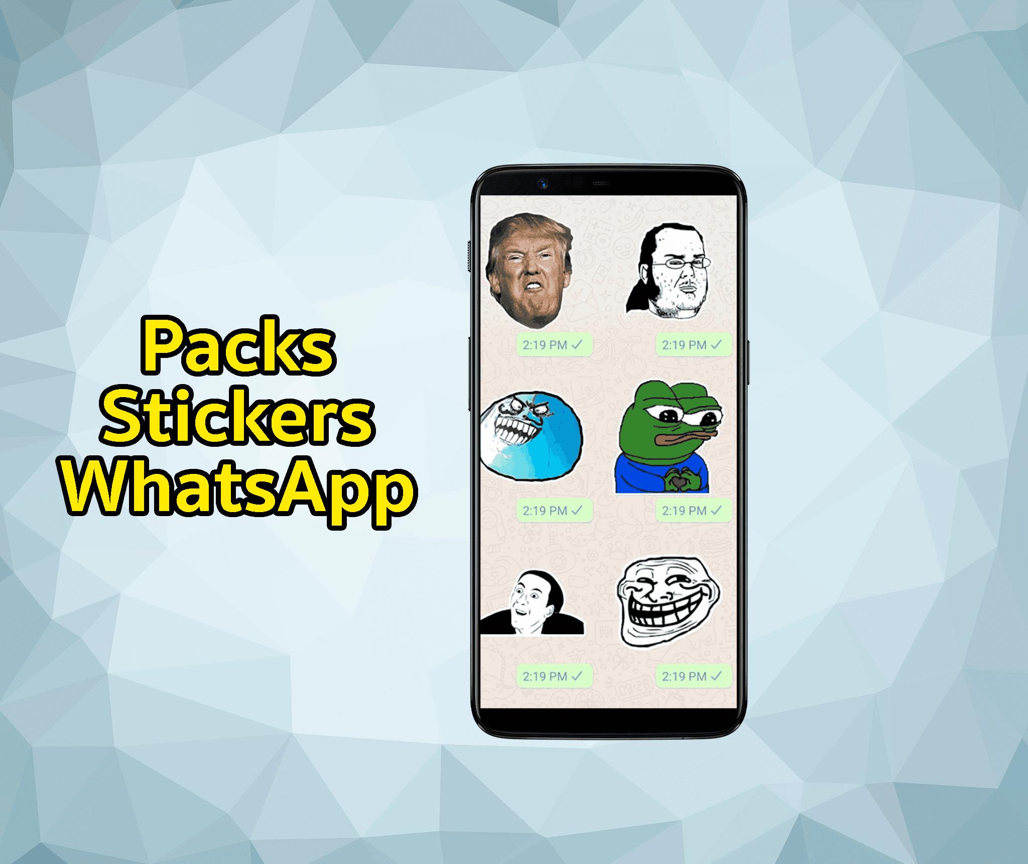 Stickers para WhatsApp: dónde descargar los mejores packs de memes, frases y mucho más