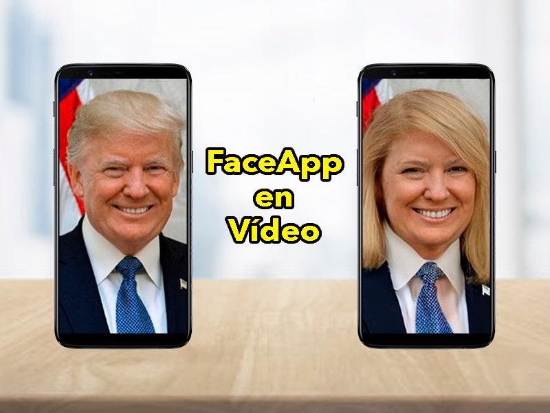 FaceApp ya admite vídeos: filtros de anciano, joven y más ahora también en vídeos
