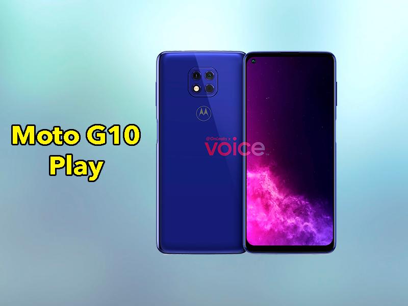 Motorola Moto G10 Play: diseño oficial del próximo móvil barato de Motorola