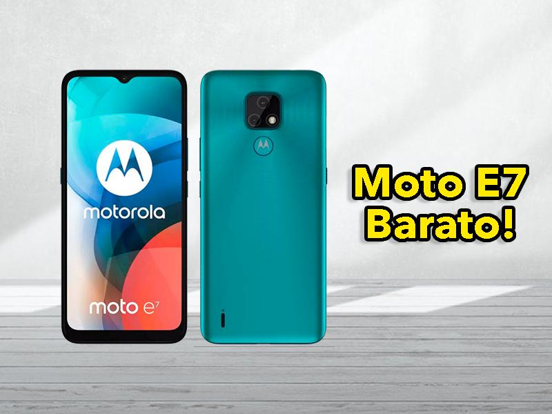 Todo lo que sabemos del Motorola Moto E7, el móvil más barato de Motorola