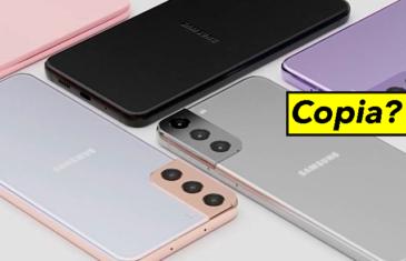Revelado el diseño del Samsung Galaxy S21, ¿copiado del iPhone 12?
