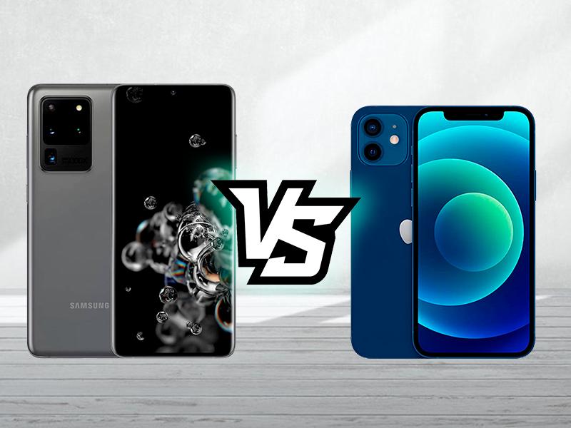 iPhone 12 vs Galaxy S20 Ultra, ¿cuánto cuesta fabricarlos?