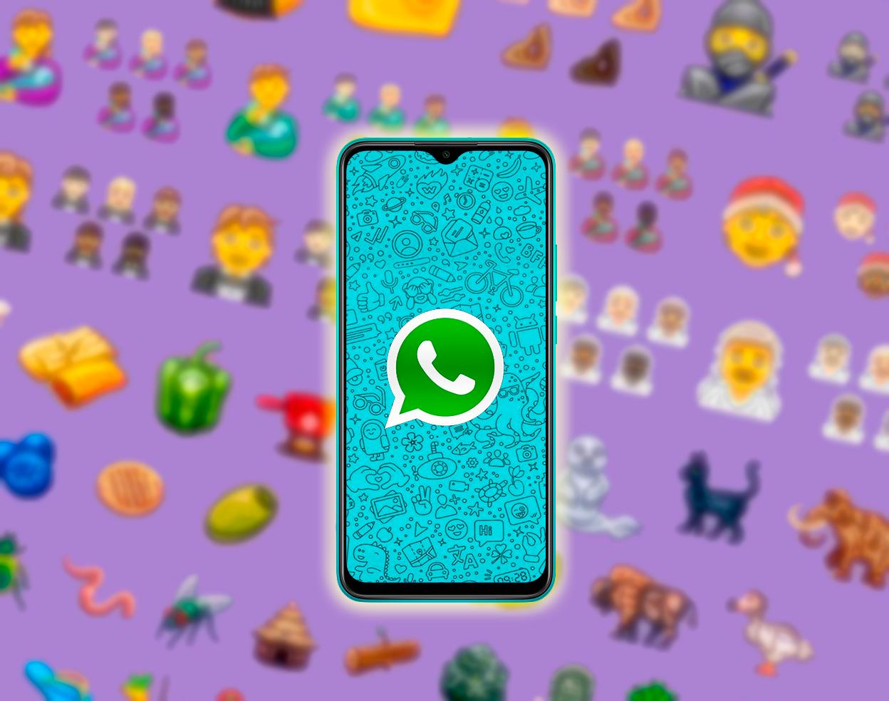 2 novedades de WhatsApp que van a llegar a tu móvil: nuevos emojis y fondos de pantalla para cada chat