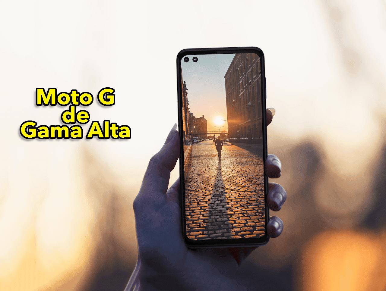¿Un Motorola Moto G de gama alta? Este es su diseño y características
