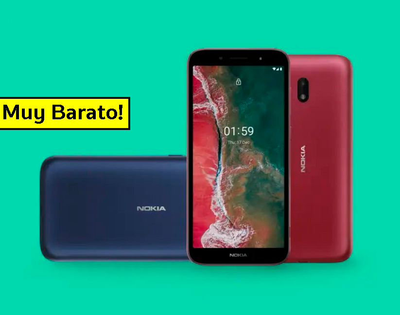Así es el nuevo móvil más barato del mercado: Nokia vuelve a las andadas con el Nokia C1 Plus