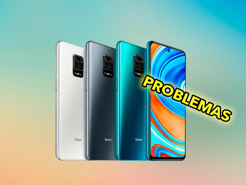 Problemas con el Xiaomi Redmi Note 9 Pro: reinicios aleatorios