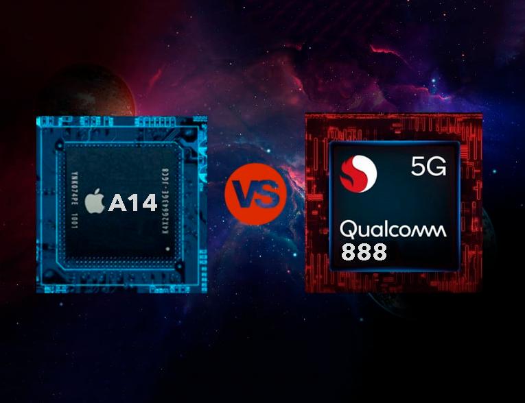 Apple A14 Bionic vs Qualcomm Snapdragon 888: comparativa de rendimiento