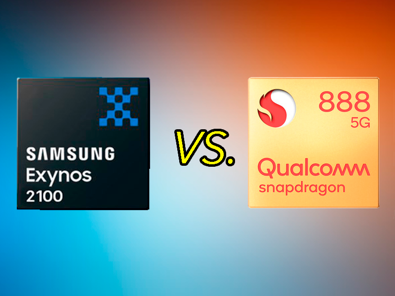 Exynos 2100 vs Qualcomm Snapdragon 888: Samsung sorprende y supera a Qualcomm