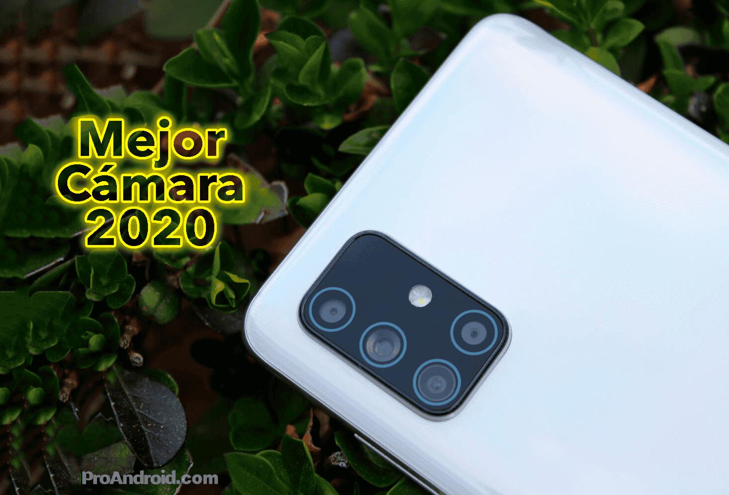 Este es el móvil con mejor cámara de 2020: no es ninguno de los que te imaginas