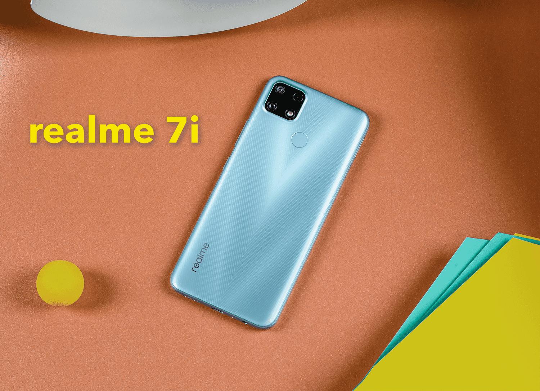 Nuevo realme 7i, móvil muy barato para competir con el POCO M3