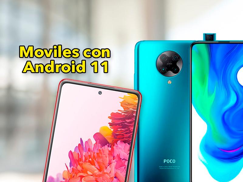 4 móviles con Android 11 que puedes comprar en estos momentos: Samsung, Xiaomi, OnePlus…