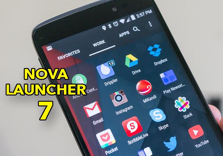 Nova Launcher 7, el mejor launcher se renueva con importantes mejoras en diseño y funcionalidad
