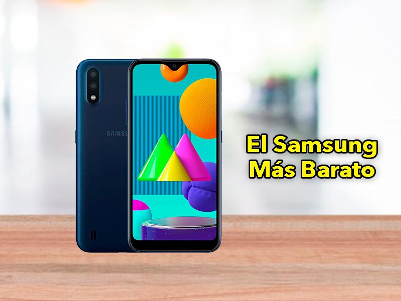 El nuevo móvil Samsung más barato: así es el Galaxy M02s