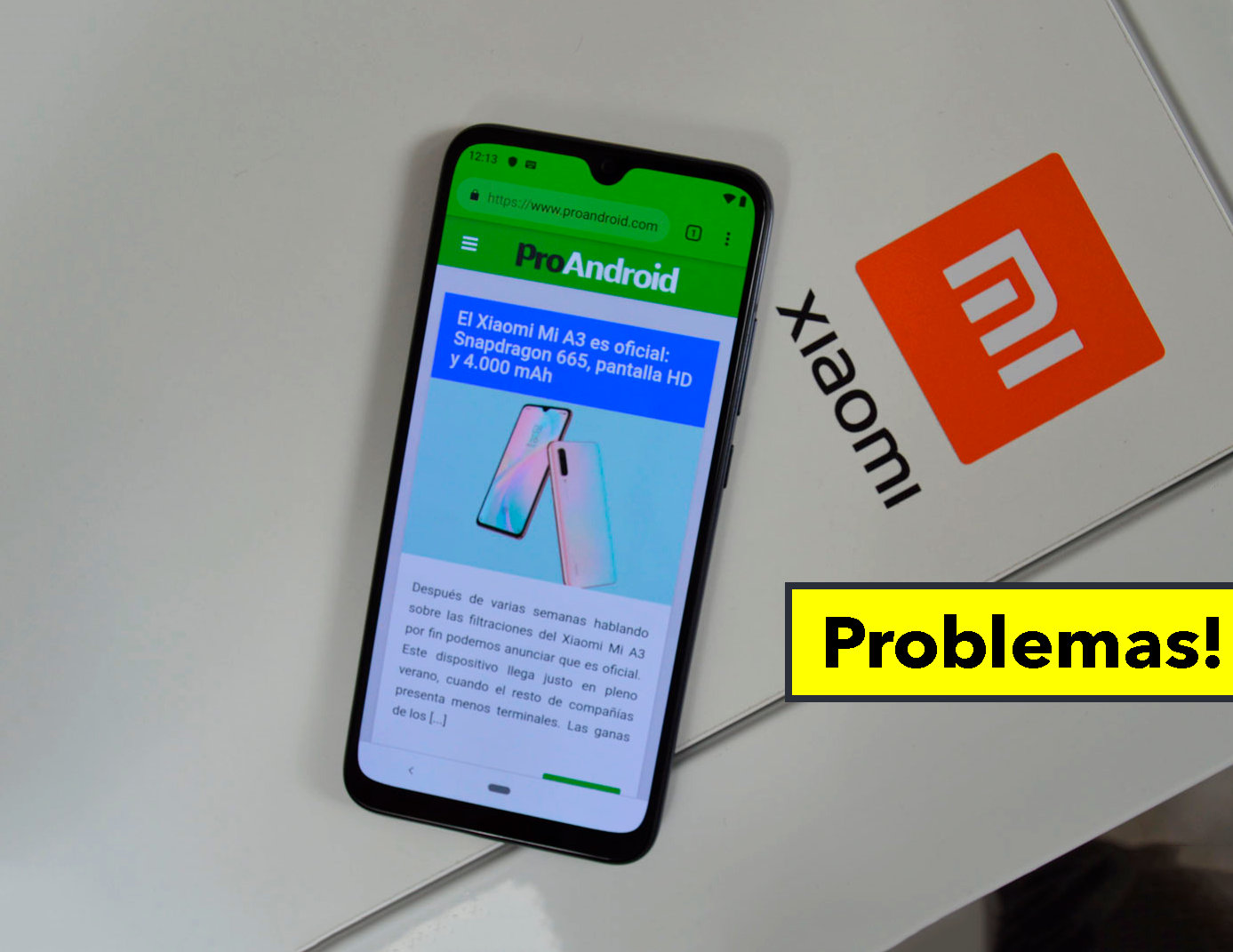 Este móvil Xiaomi se está bloqueado tras actualizar a la última versión