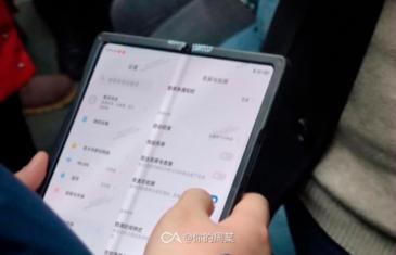 Este es el móvil plegable de Xiaomi en imágenes reales, ¿un Galaxy Fold de Xiaomi?