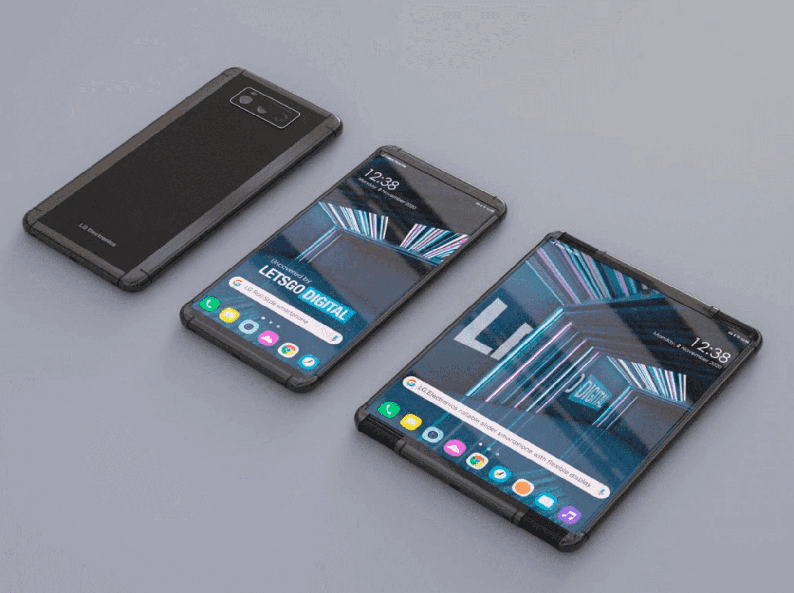 ¿Móvil enrollable de Samsung? Así sería la mejor alternativa a los móviles plegables