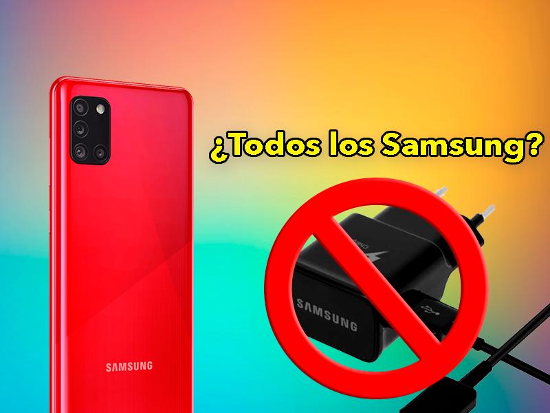 Los Galaxy S21 no serán los únicos, otros móviles Samsung también llegarán sin cargador ni auriculares