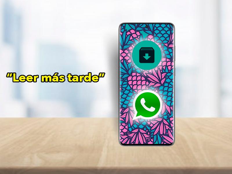 Leer más tarde, la nueva función de WhatsApp que debes conocer