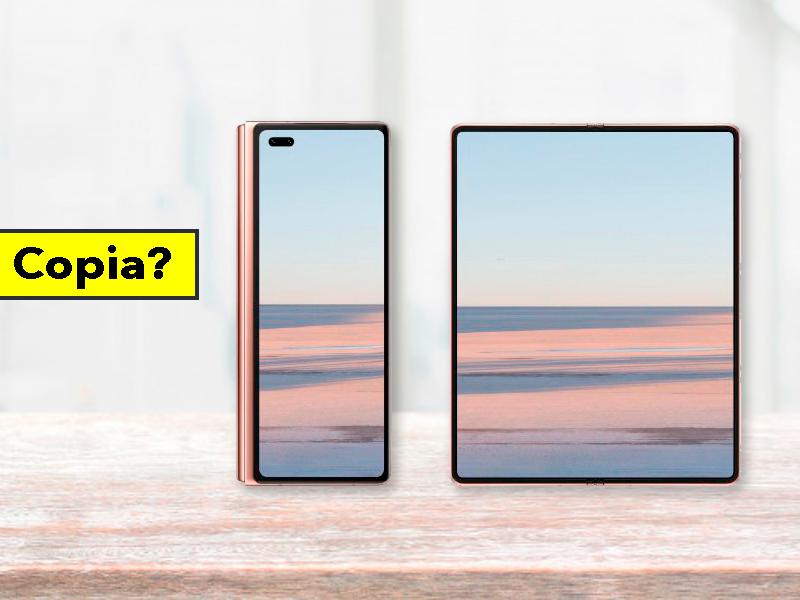 Huawei copia a Samsung descaradamente: así es el Huawei Mate X2