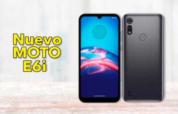 Nuevo Motorola Moto E6i con Android Go: es el mejor Android Go que hay