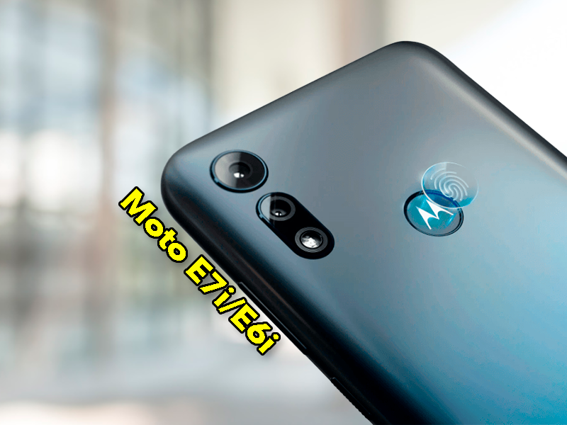 Dos nuevos móviles Motorola muy baratos: Moto E6i y Moto E7i Power