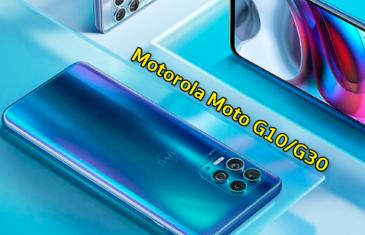 Todo lo que sabemos sobre los Motorola Moto G10 y Moto G30: procesador, pantalla, memorias…