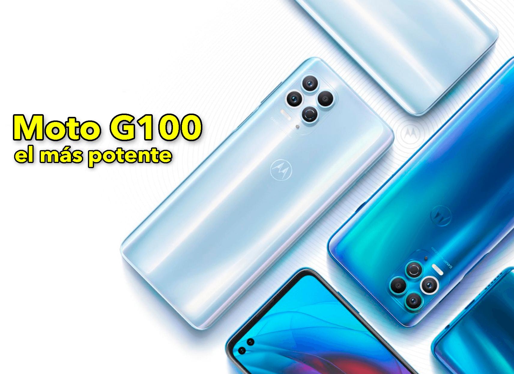 Motorola Moto G100: el Moto G más potente de la historia es una realidad