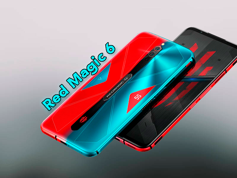 Novedades del Red Magic 6: será una auténtica bestia de gama alta