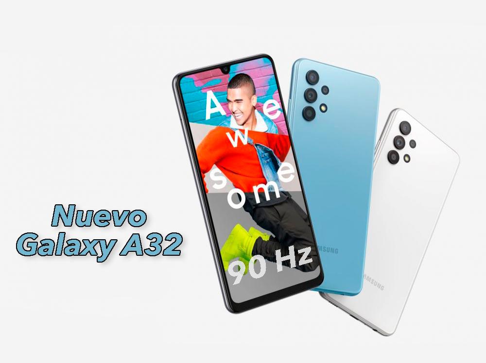 El Samsung Galaxy A32 es oficial, ¿es el nuevo Galaxy A50/51?