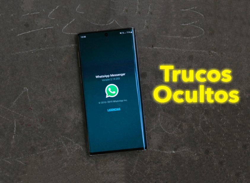 2 trucos ocultos de WhatsApp para sacarle más partido a la aplicación