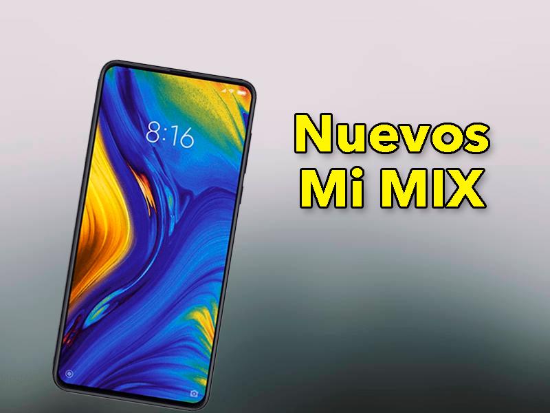 Vuelve los Xiaomi Mi MIX, ¿qué ofrecerán estos nuevos dispositivos?