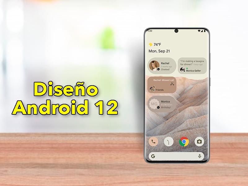 Primer vistazo a Android 12: cambios radicales en el diseño de la interfaz
