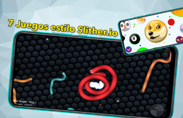 7 Juegos estilo Slither.io para Android muy adictivos y que puedes jugar con amigos
