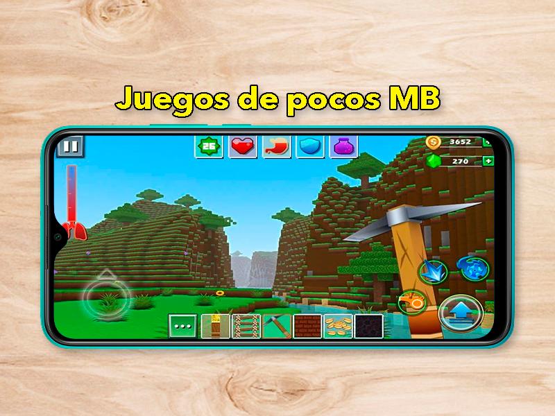 18 Juegos Android que ocupan muy poco: para móviles con poco almacenamiento