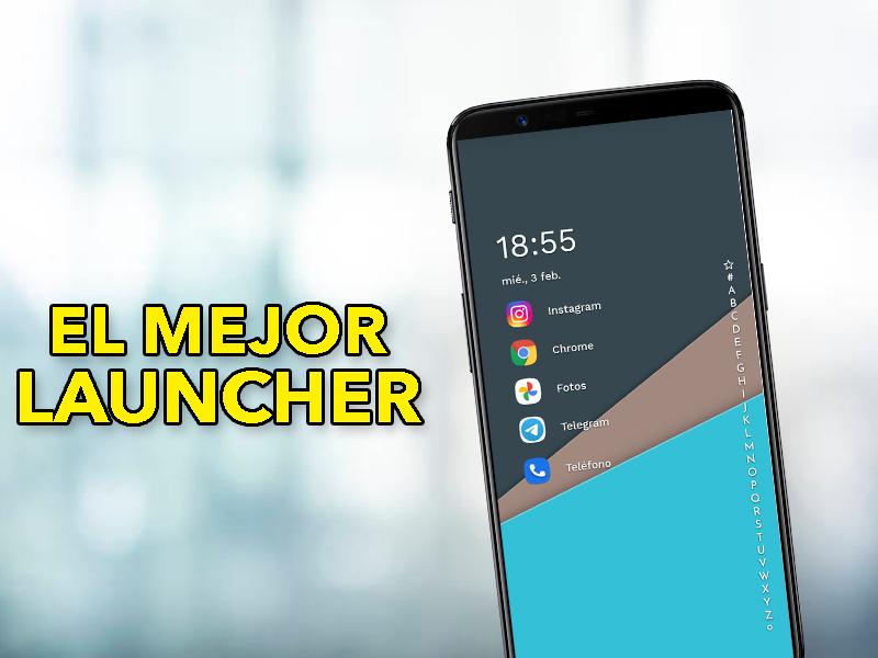 Tienes que probar este launcher en tu móvil Android: cambia el diseño por completo