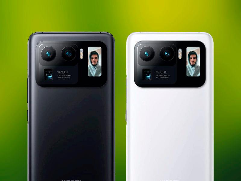 En 2021 habrá más móviles con pantalla secundaria en la parte trasera