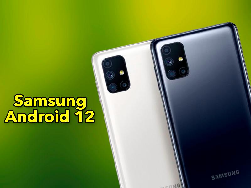 ¿Recibirá tu móvil Samsung Android 12? Estos modelos podrán actualizar