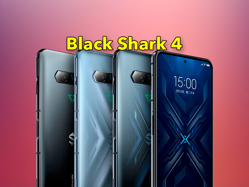 Xiaomi Black Shark 4 y 4 Pro: Snapdragon 888, pantalla 144 Hz y carga completa en 15 minutos