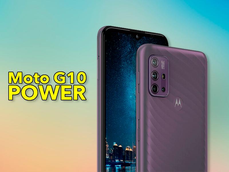 Nuevo Motorola Moto G10 Power: mejor opción que el Moto G10