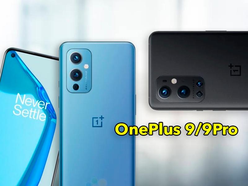 Diseño completo de los OnePlus 9 y 9 Pro: filtrado hasta el último detalle