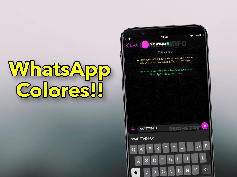 El mayor cambio de WhatsApp en años: WhatsApp de colores