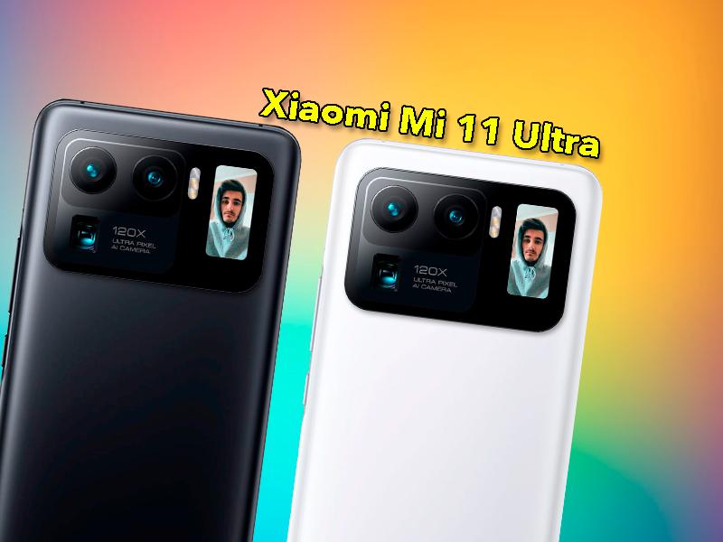 Xiaomi Mi 11 Ultra es la mayor bestia de Xiaomi: Snapdragon 888, pantalla QHD+, pantalla secundaria…