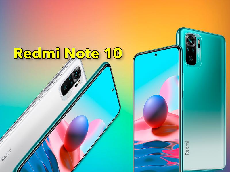 Xiaomi Redmi Note 10: pantalla AMOLED, Snapdragon 678 y 5.000 mAh de batería